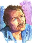 Robert Shaw as Quint by Jerantino