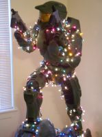 Christmas with Master Chief by touchofchaos