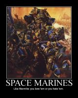 Space Marines by Jamstar501st