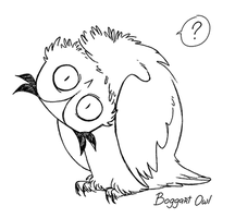 Owl by BoggartOwl