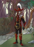 Red Mage_Commission by Evilduckie227