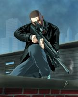 GTA IV - Sniper by Jansen34