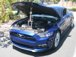 2015 Ford Mustang GT Blue Award Winning by granturismomh