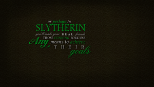 Slytherin 1366x768 by Myrva
