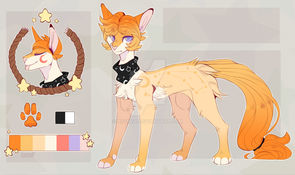 Little star - Ref comm by Flatteh