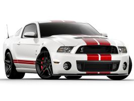 Shelby GT500 - Color 0ptions by lovelife81
