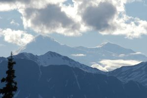 Denali from the east by MogieG123