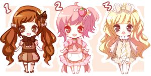 Pocky Adoptables -CLOSED- by Emi-Liu