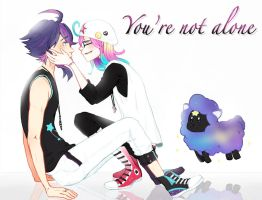 {Eterna Academia Event 1: You're Not Alone} by lainykins
