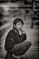 Lonely Kid by xAgNO3x