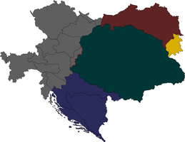 Partitioning Austria-Hungary by Lehnaru