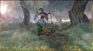 Faun and Fairy - Swing - Second Life Paid Shoot by Jace-Lethecus
