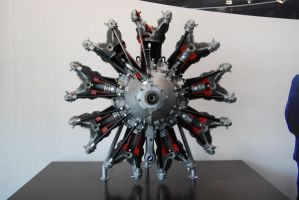 Airplane Engine by tigpc