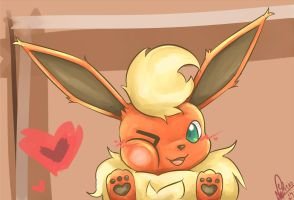 Flareon by Nellair