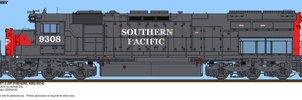 Southern Pacific 9308 by o484