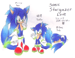 Sonic Stargazer Love by sonicartist16