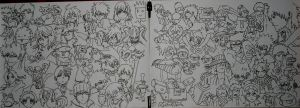 Project infinity 2/4 lineart by Fire-Natsu
