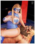 R Mika and Zangief by ROCINATE