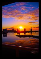 Sunrise Skyline - Revisited by AJHege