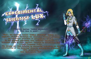 Lux Crownguard - The Experimental Scientist by Dave-Shino