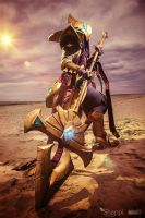 Azir  : League of Legends by Shappi