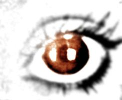 Brown_Eye by suicidesheep