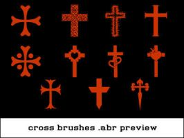 Small Cross Brushset by kellielli28