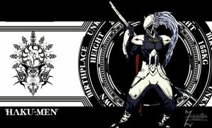 hakumen - wallpaper by zykhokiller