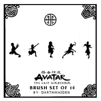 Avatar TLA Brushes by DarthMaiden