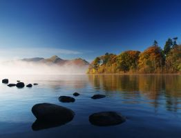 Derwent Water Sunrise by richsabre
