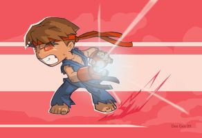 Evil Ryu by D-Gee