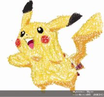 Typeography - Pikachu by ily4ever95