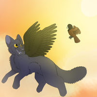 Spread your wings by BIuey