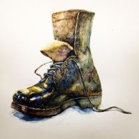 Military boots by Drivinghead