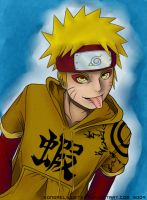 Naruto - Coloured by lledra