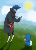 mudkip and kisame by Ita-tyan