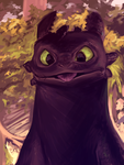Toothless by moni158