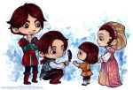 Auditore siblings by KeyshaKitty