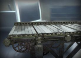 HP -  3D Conveyer Belt by hockie