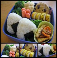 Riceballs and Stuff by sake-bento