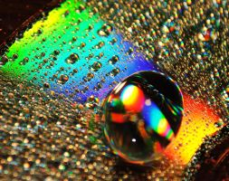 Rainbow Drops by Senzi