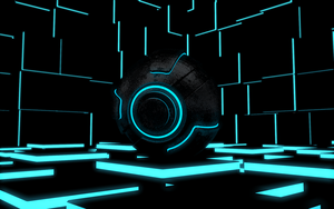 Tron ball by DavidBaruti