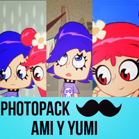 Photopack Ami y yumi :3 by MicaEdiitions