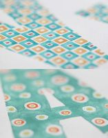 Alphabet Watercolor - Patterns (preview) by gb-illustrations