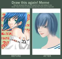 Draw This Again! Meme by reinfall