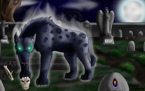 graveyard scavanger by Shadow-lightning