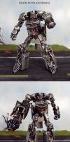 Deluxe DOTM Soundwave by Unicron9