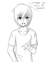 Dance with Hiroto sketchy @w@ by septemberice