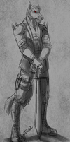 Dhavar-Quick sketch by the-MadDog