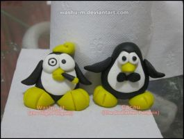 WEIRD Penguins - Biscuit by Washu-M